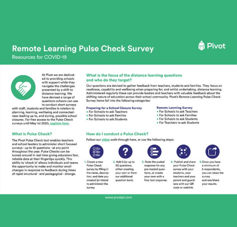 Remote learning tool