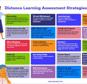 distance learning strategy